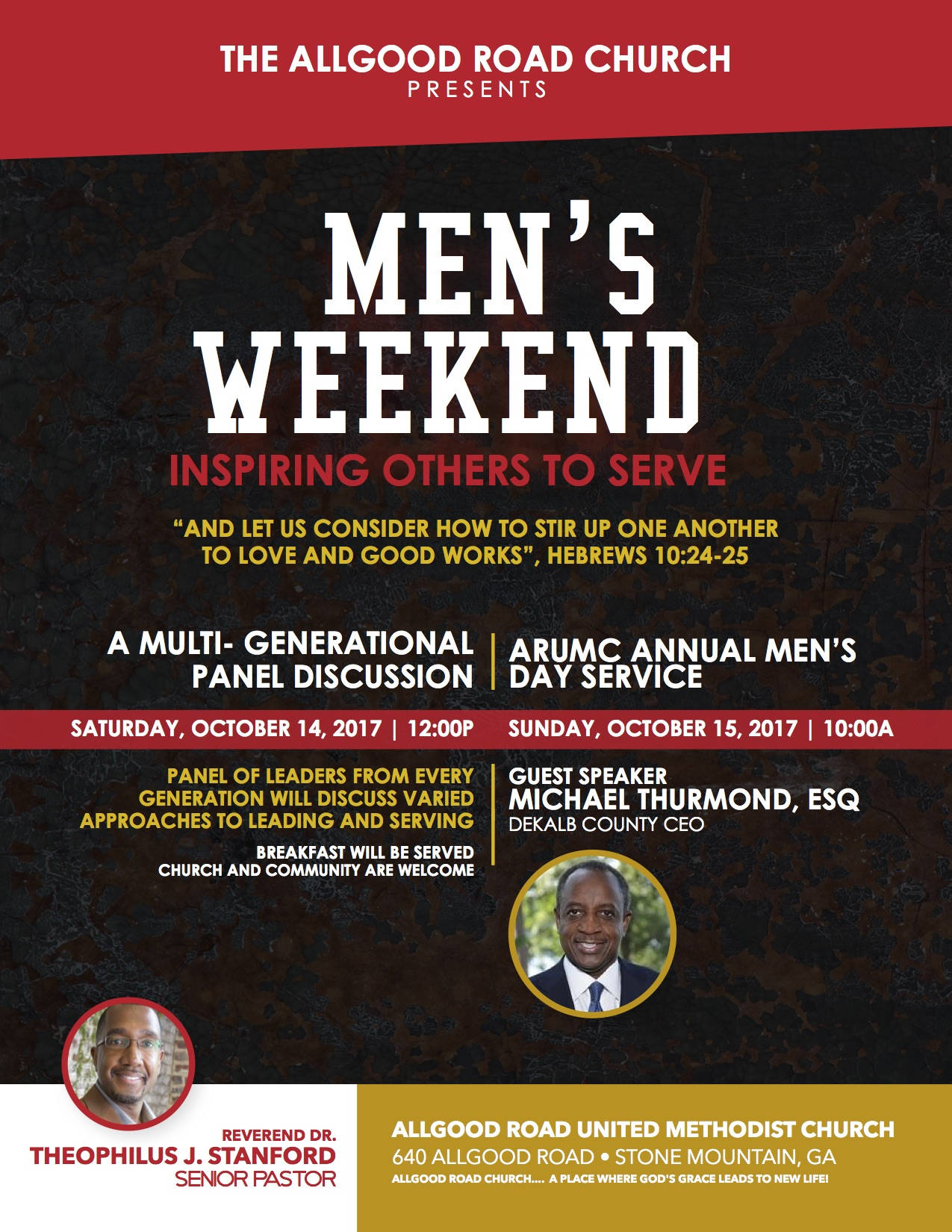 The Allgood Road Church Men's Weekend 2017