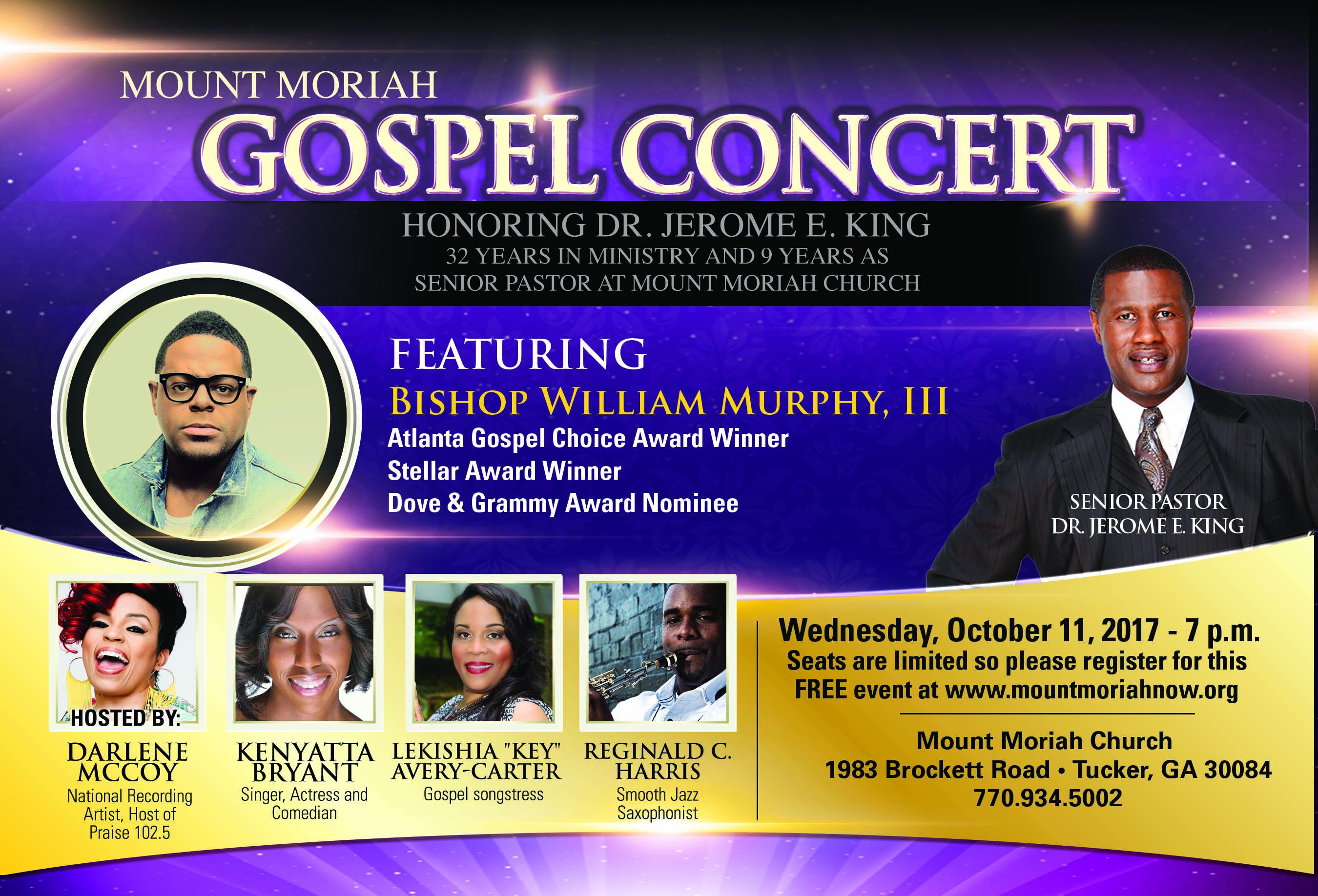 Mount Moriah Gospel Concert