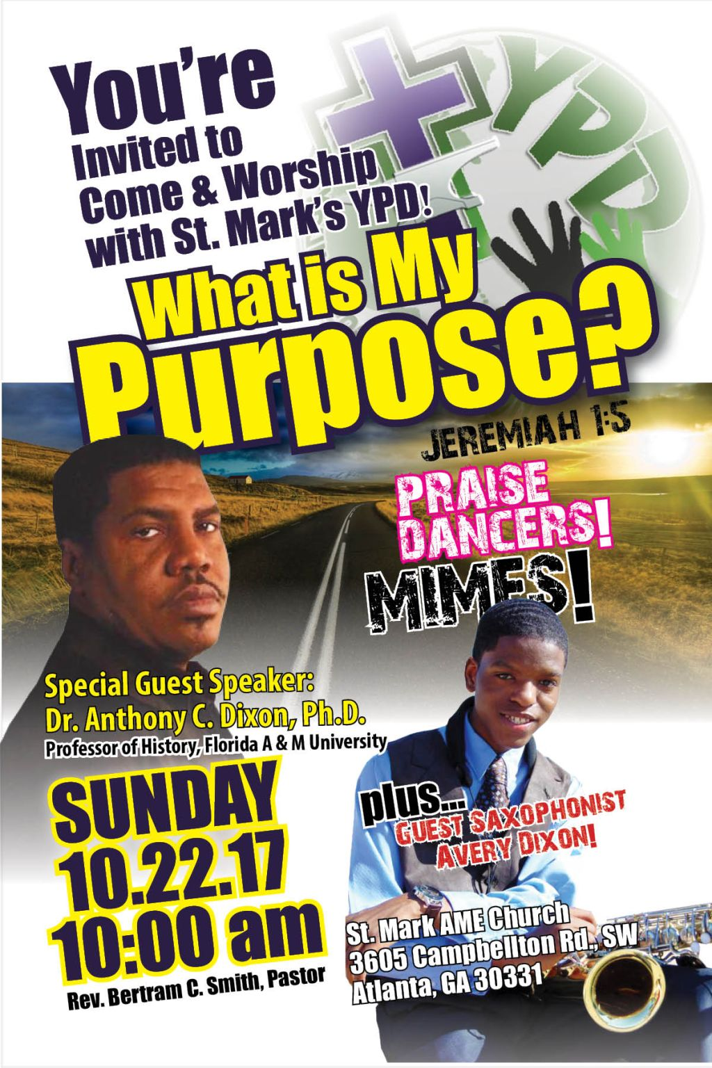 St. Mark's YPD: What Is My Purpose