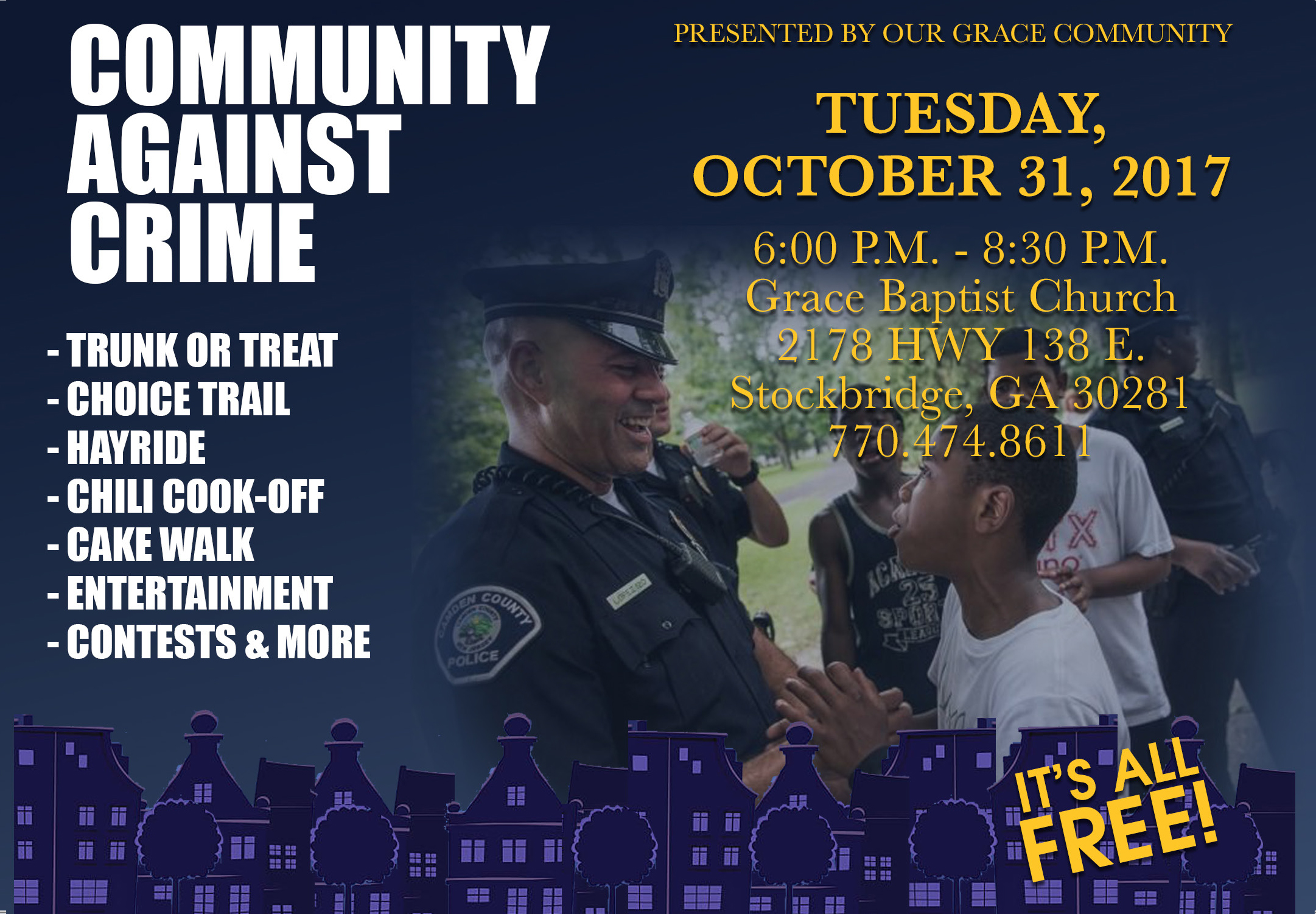 Community Against Crime Presented By Our Grace Community