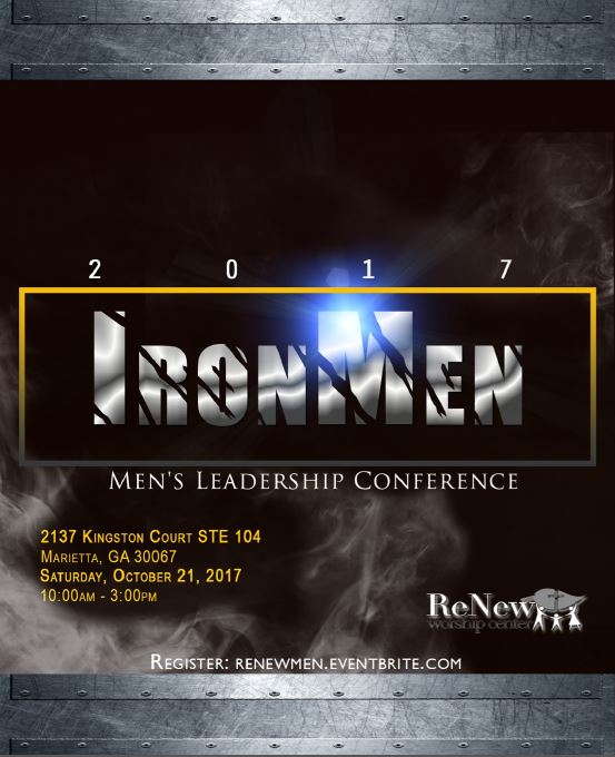 Iron Men Mens Leadership Conference