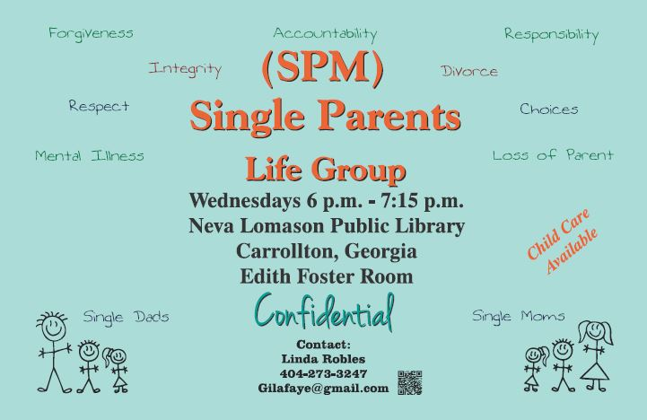 Single Parent Life Group November 2017