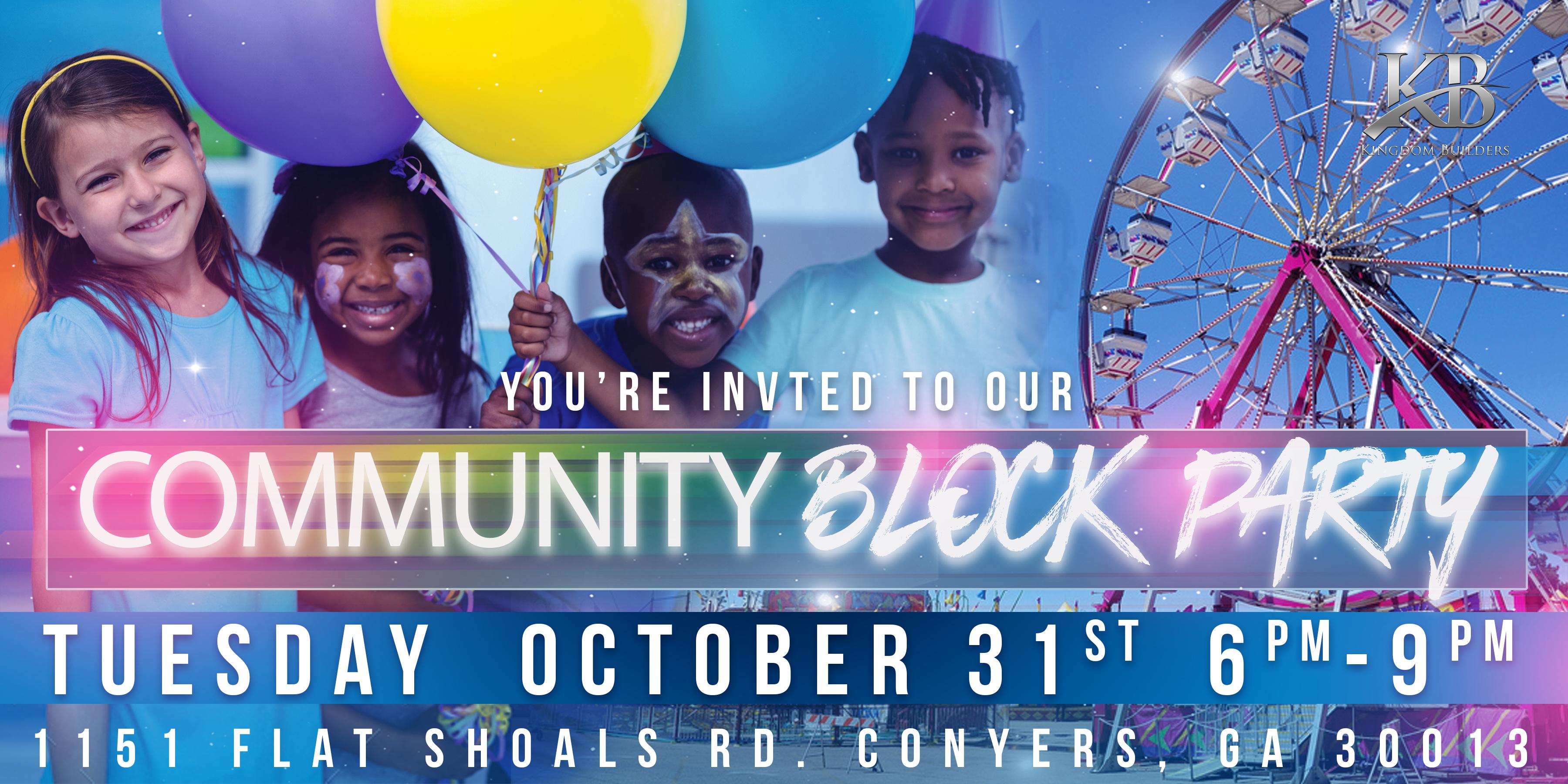 Community Block Party KB