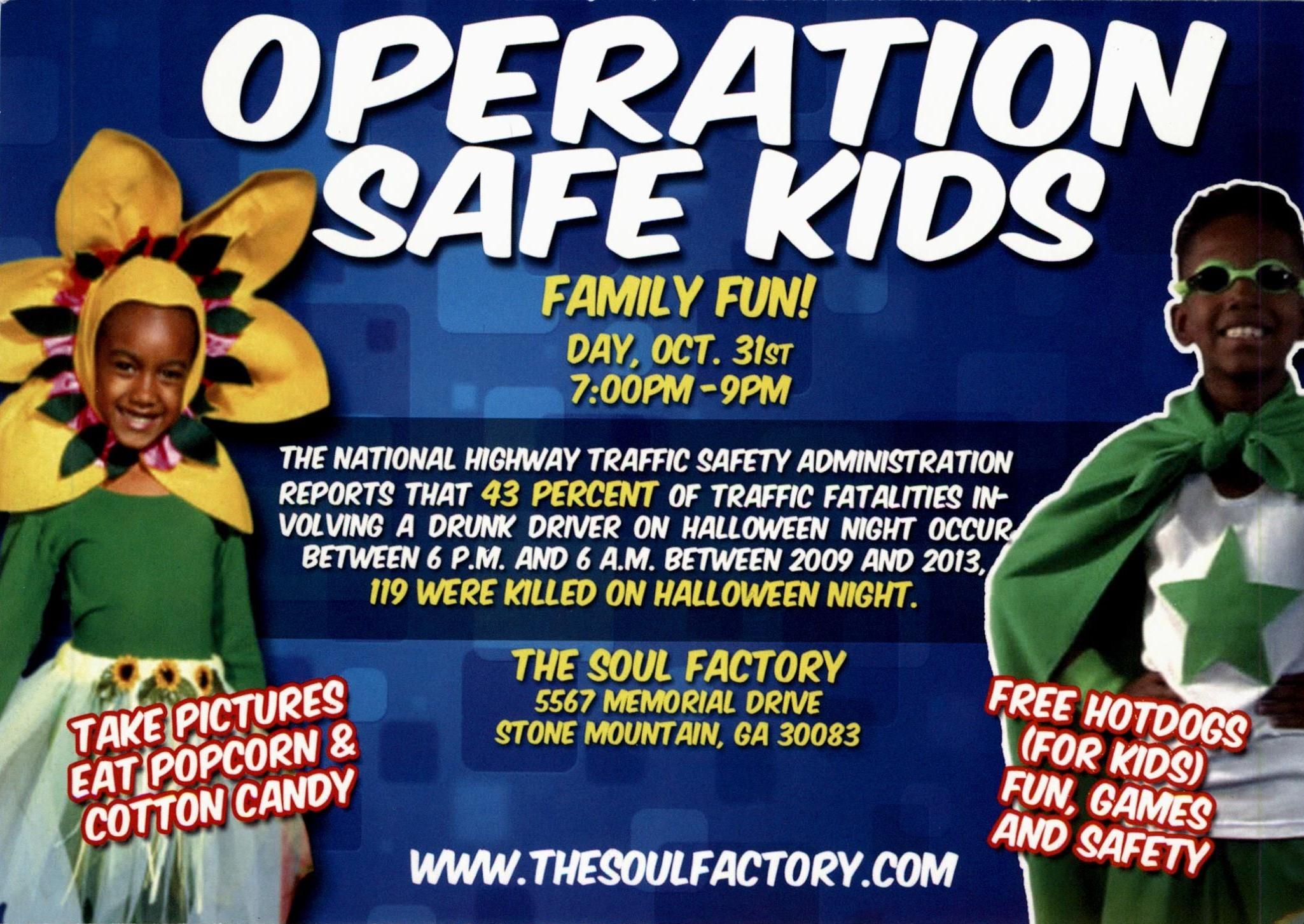 Operation Safe Kids Family Fun