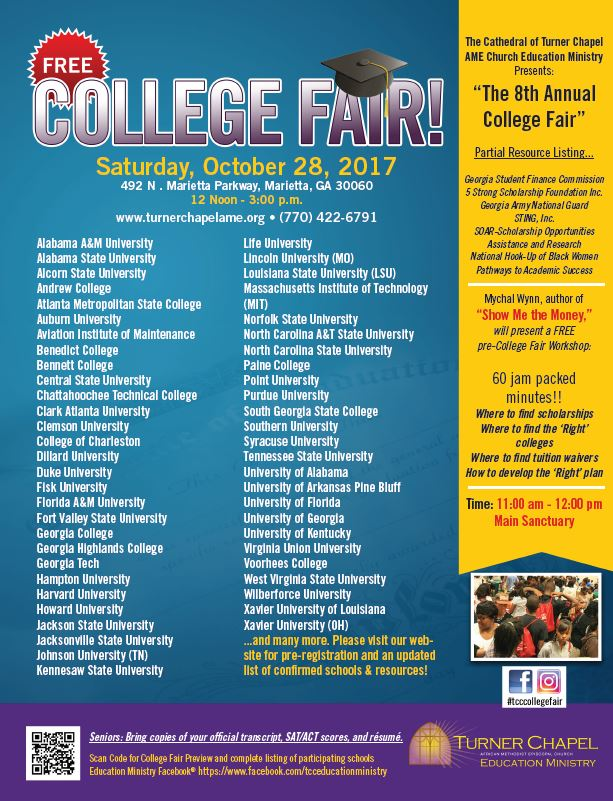 The Cathedral of Turner Chapel AME 8th Annual College Fair