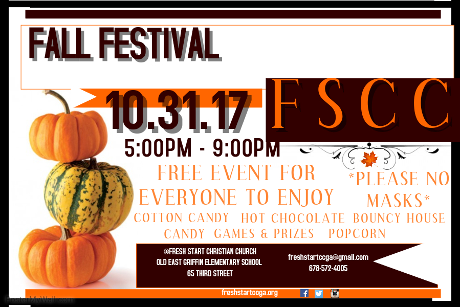 Fresh Start Christian Church Fall Festival