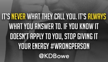 KD Bowe Never