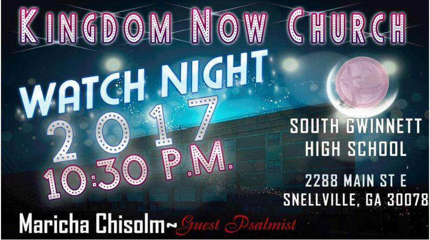 Watch Night - South Gwinnett