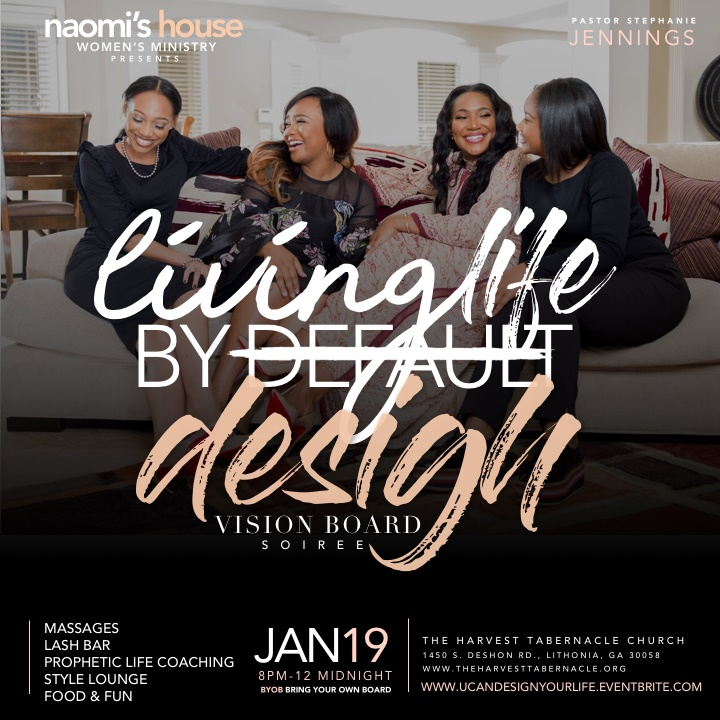 2018 Living by Design Vision Board Soiree