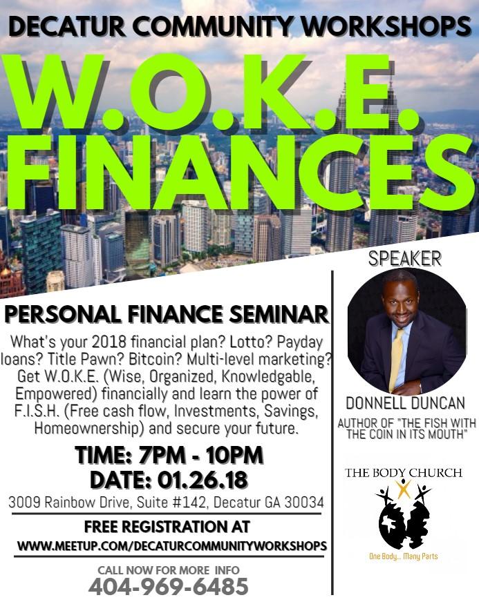 WOKE Finances