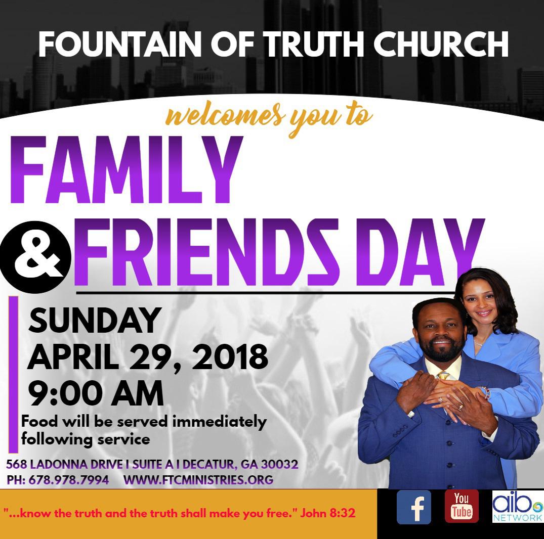 Fountain of Truth Church Family & Friends