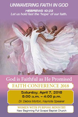 New Beginning Full Gospel Baptist Church Faith Conference
