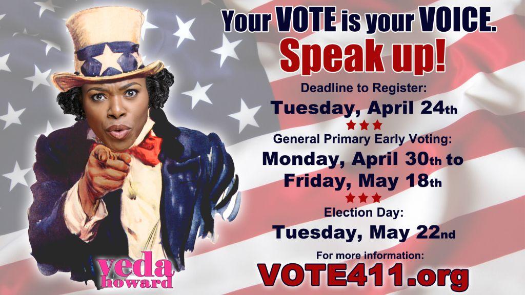 Voting- Veda Howard
