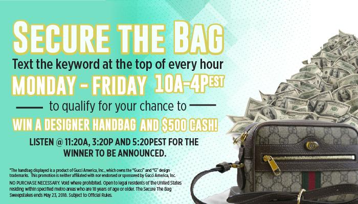 Secure The Bag Praise