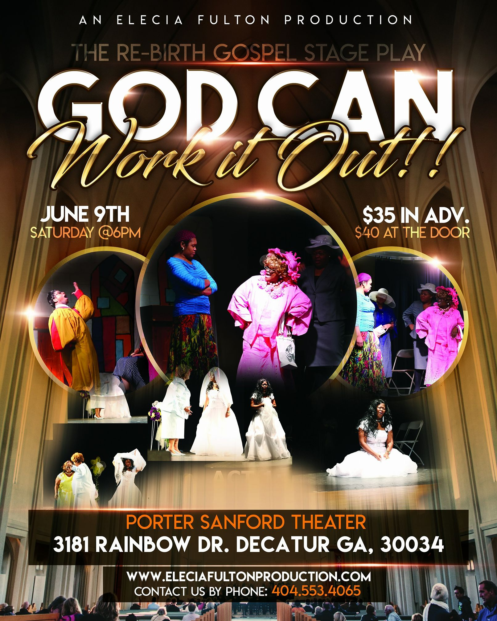 Re-Birth Gospel Stage Play