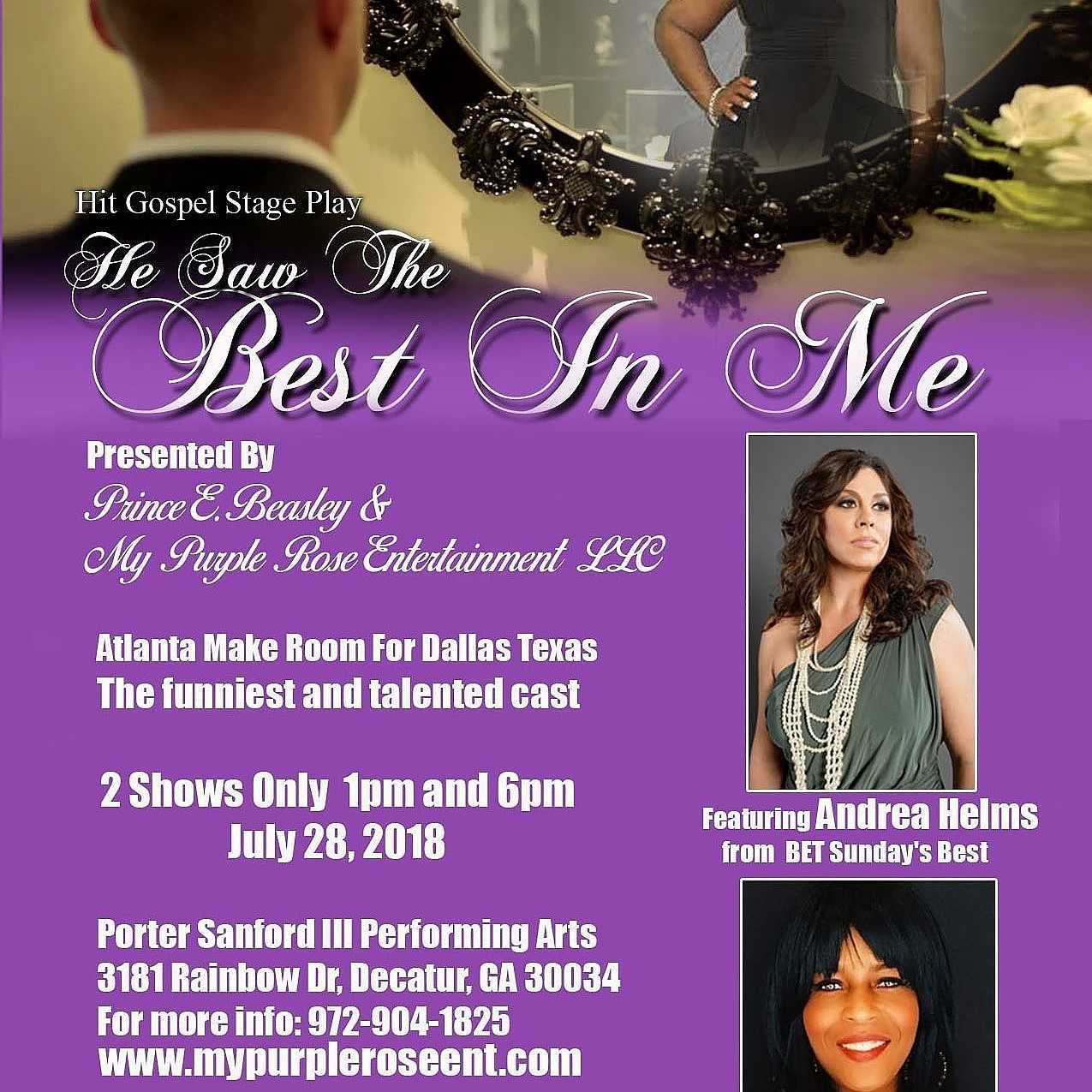 Stage Play: He Saw The Best In Me