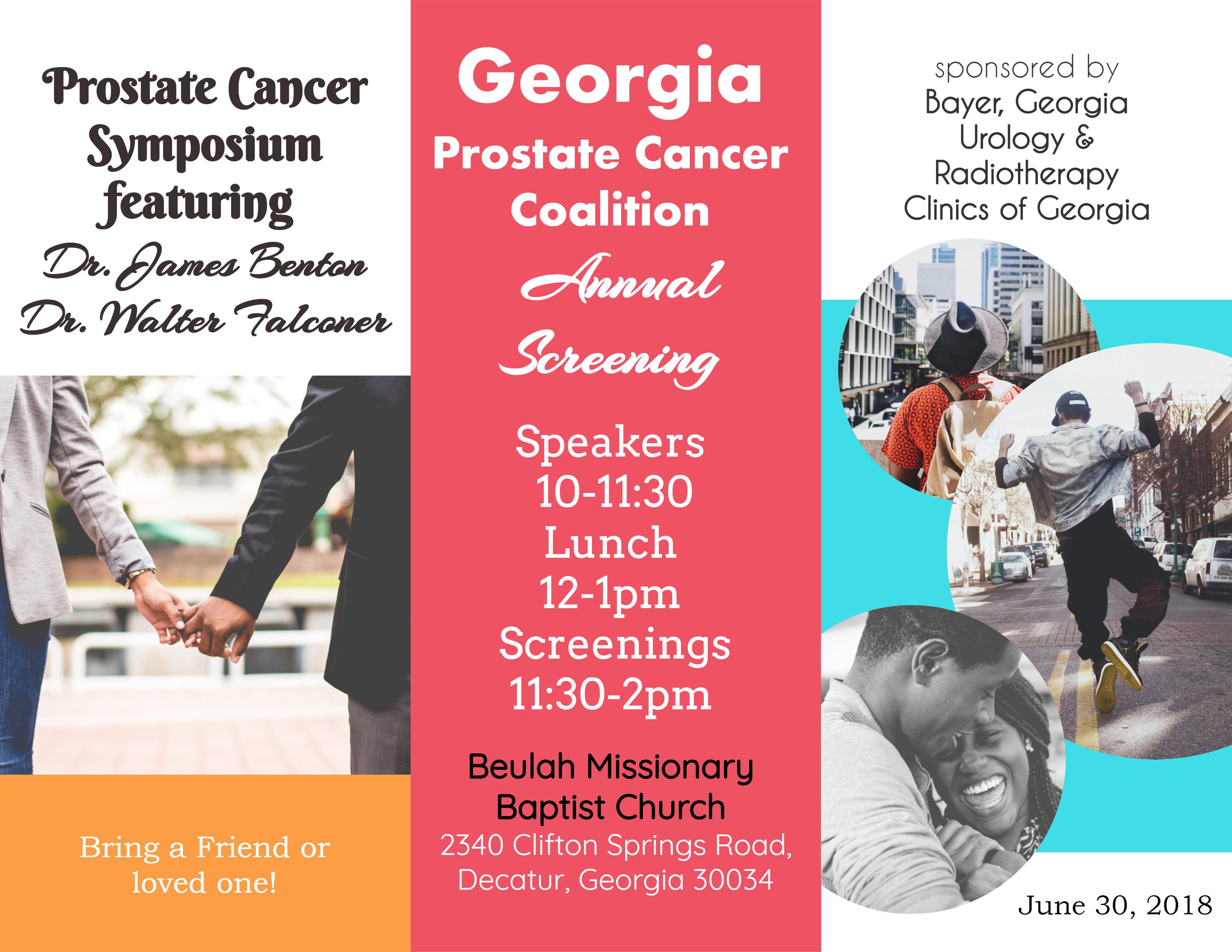 Georgia Prostate Annual Screening