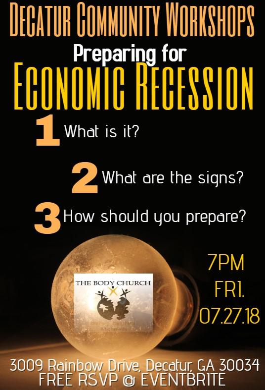 Preparing for Recession