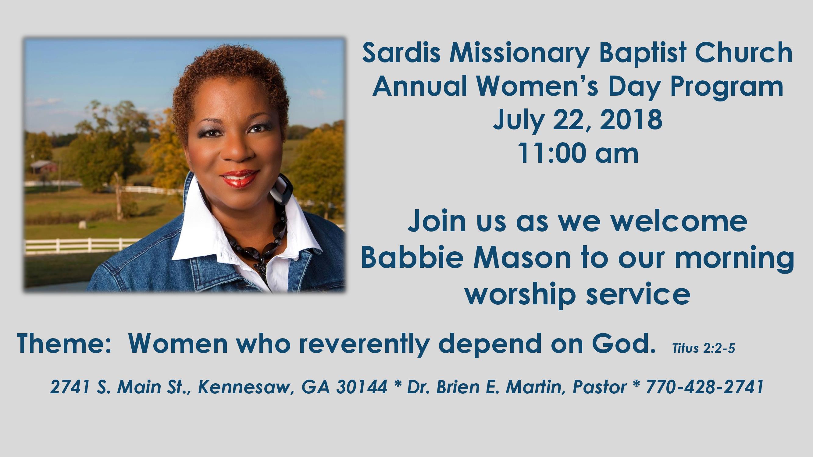 Sardis Womens