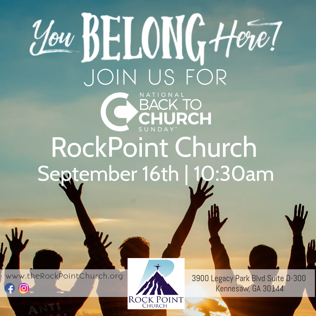 Back 2 Church Anniversary