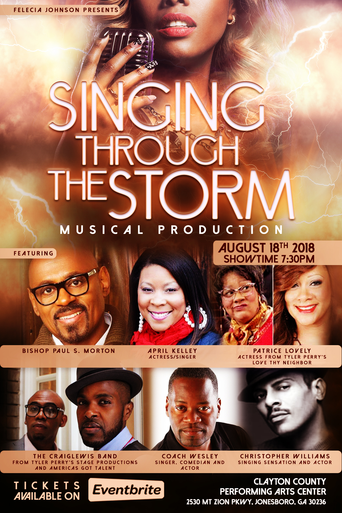 Singing Through the Storm Musical