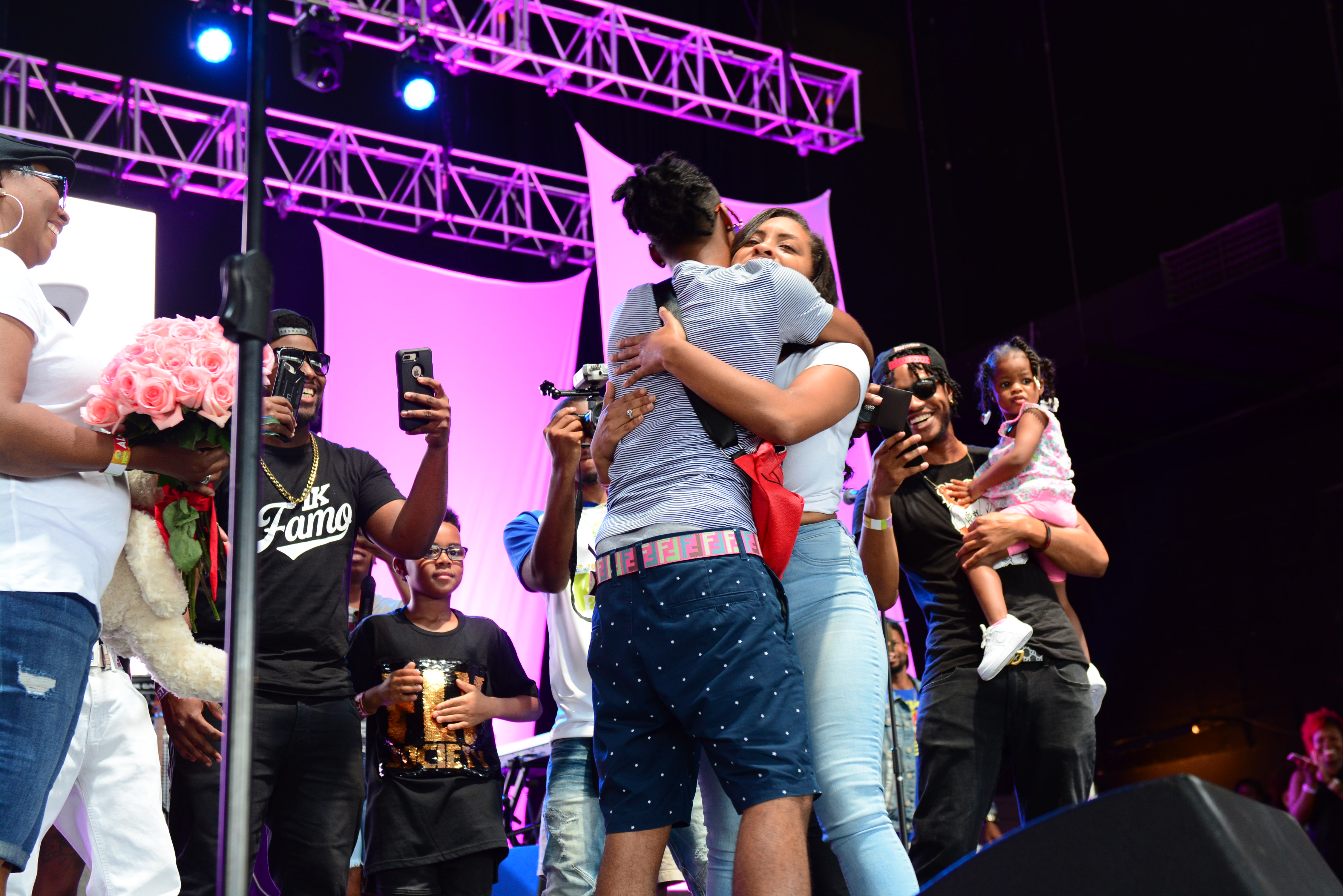 1K Phew Proposes To His Girlfriend On Stage At Praise In The Park 2018 #PITP18