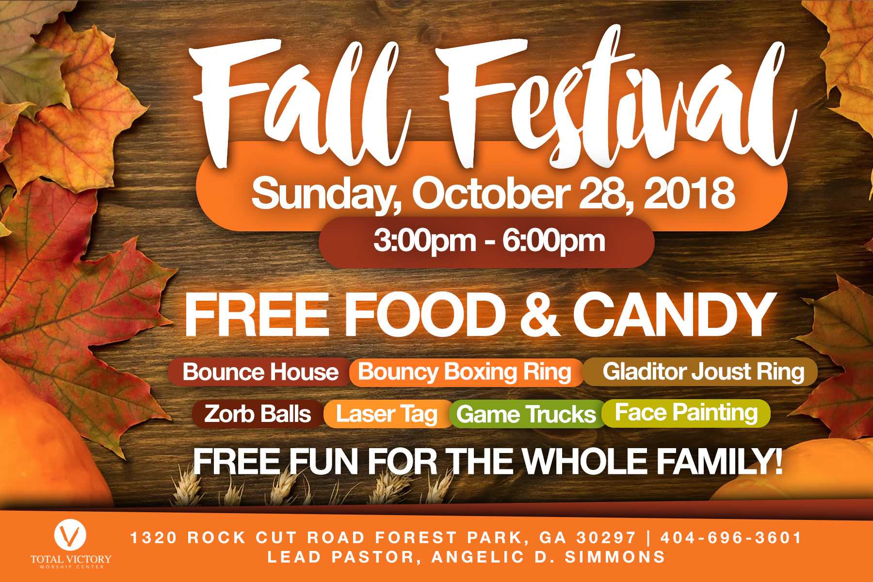 Total Victory Fall Festival