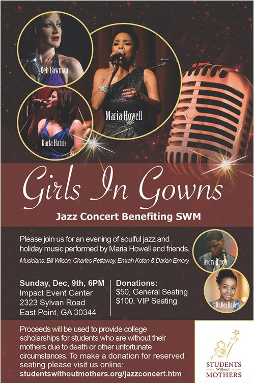 Girls In Gowns Jazz Concert Benefiting SWM