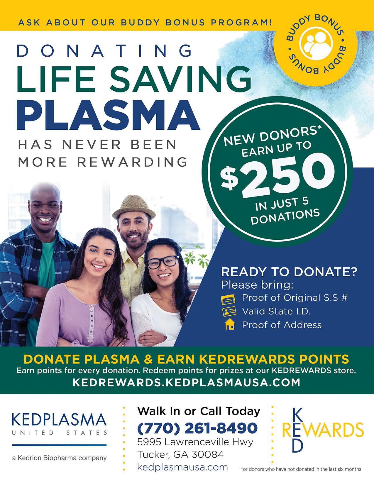 Kedplasma: Donate Today!