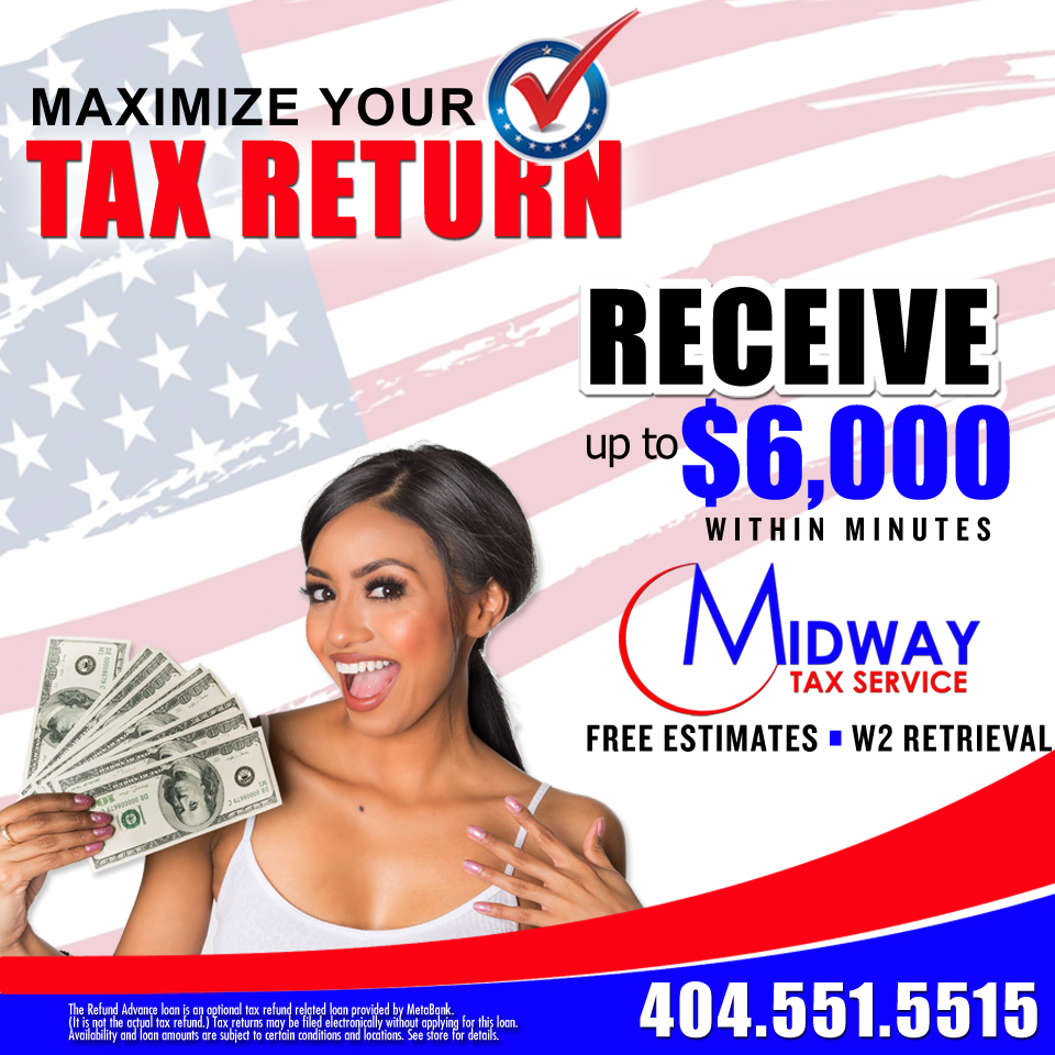 Midway Tax Services: Maximize Your Tax Return!