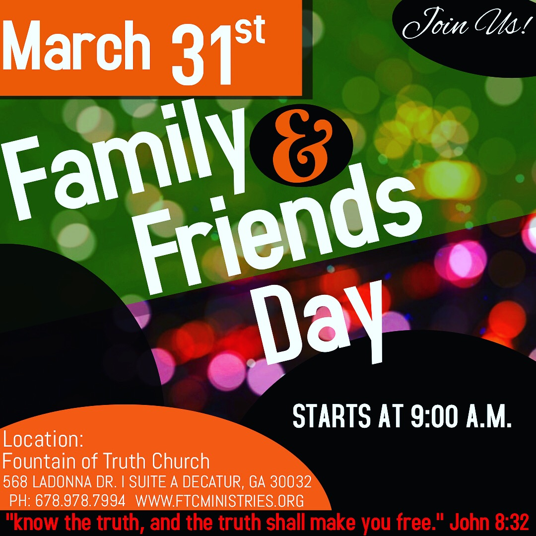FOTC Fam & Friends