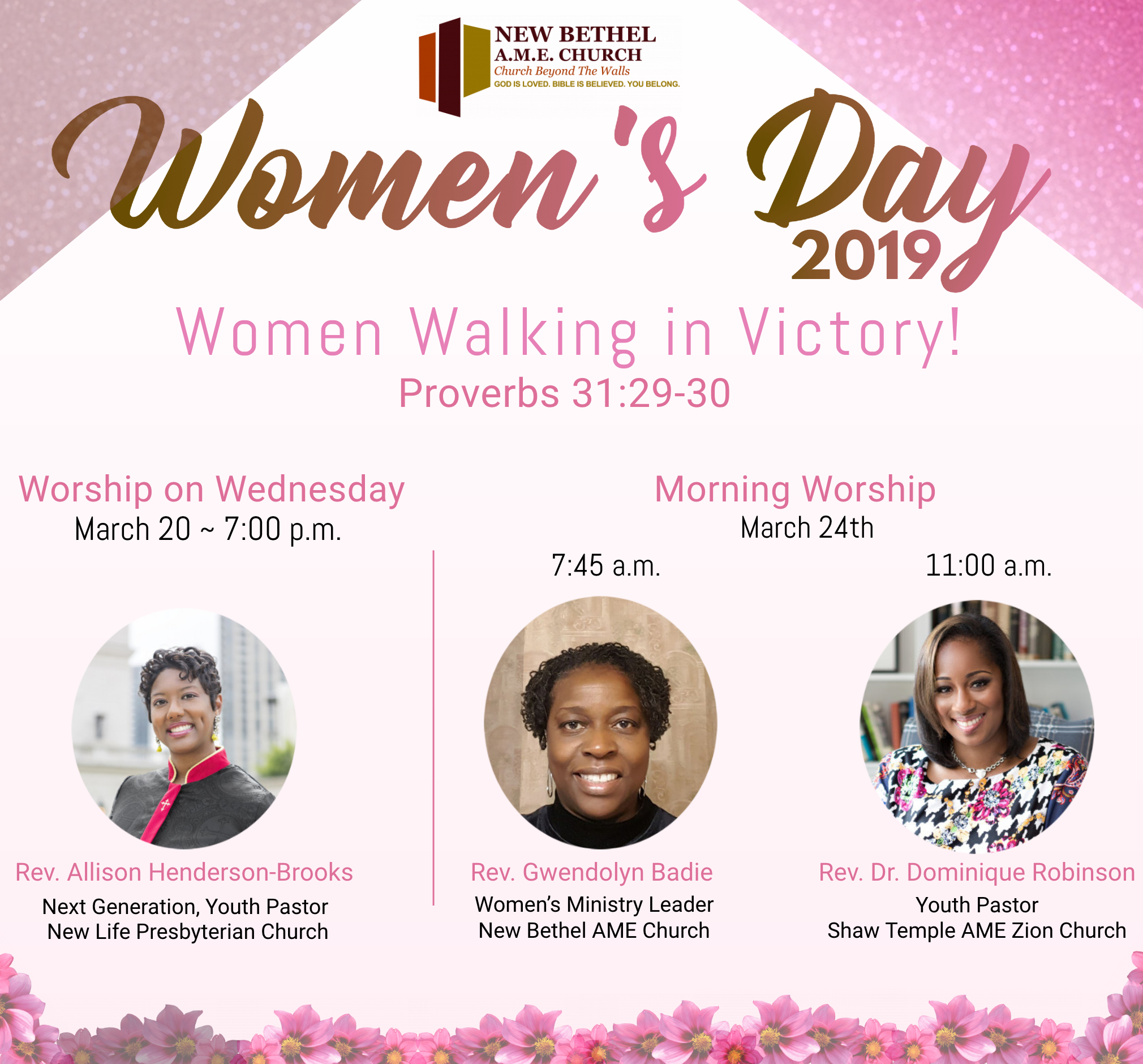 New Bethel Womens Day