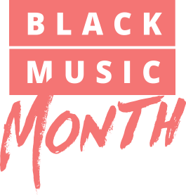 Black Music Month 2019 Background + Logo