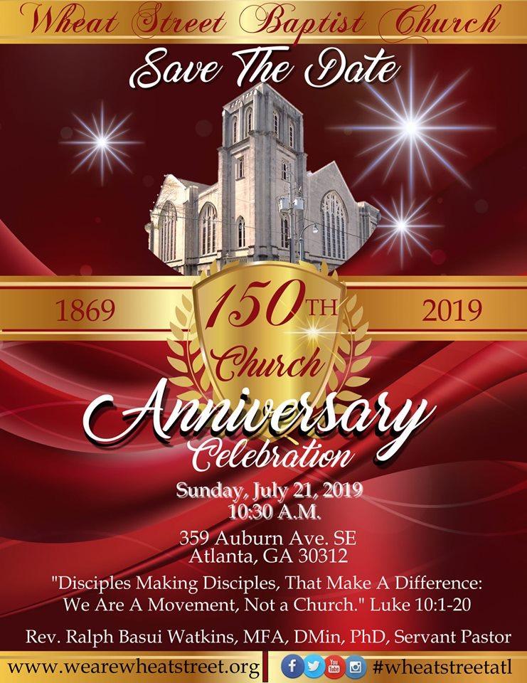 150th Church Anniversary
