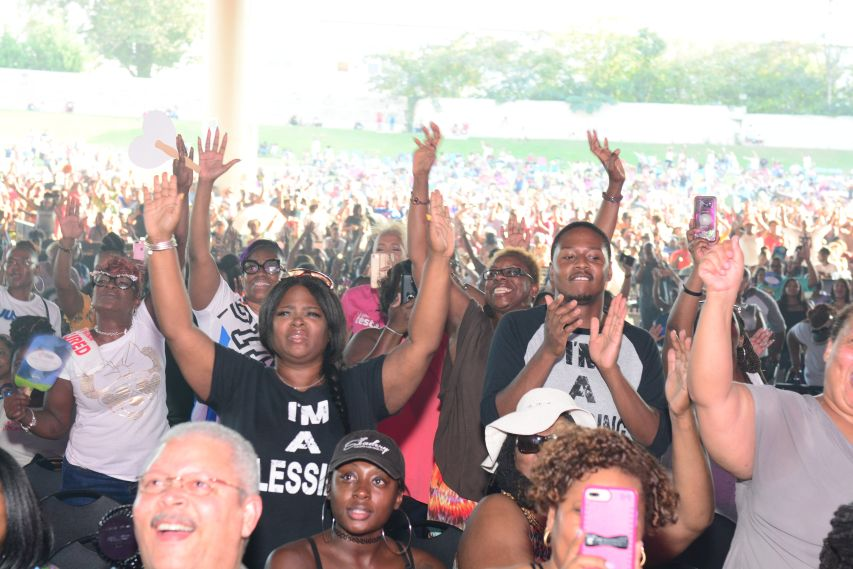 Praise In The Park 2018 Crowd Shots