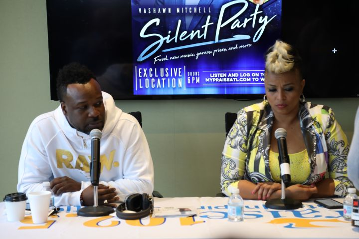 VaShawn Mitchell Silent Party