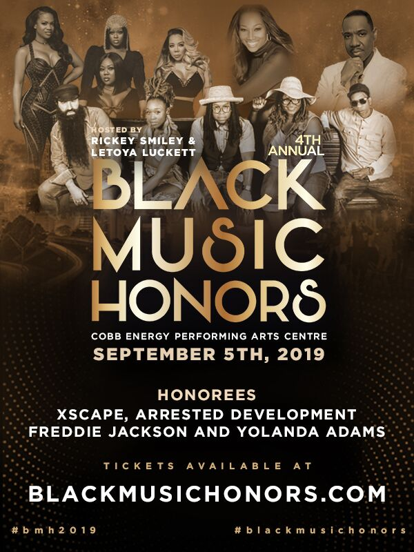 4th Annual Black Music Honors | MyPraise 102 5, Atlanta, Inspiration