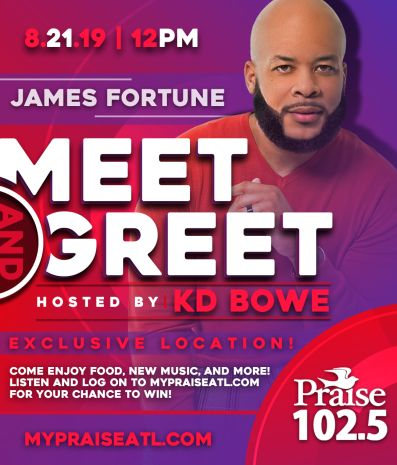 Praise 102.5 and James Fortune