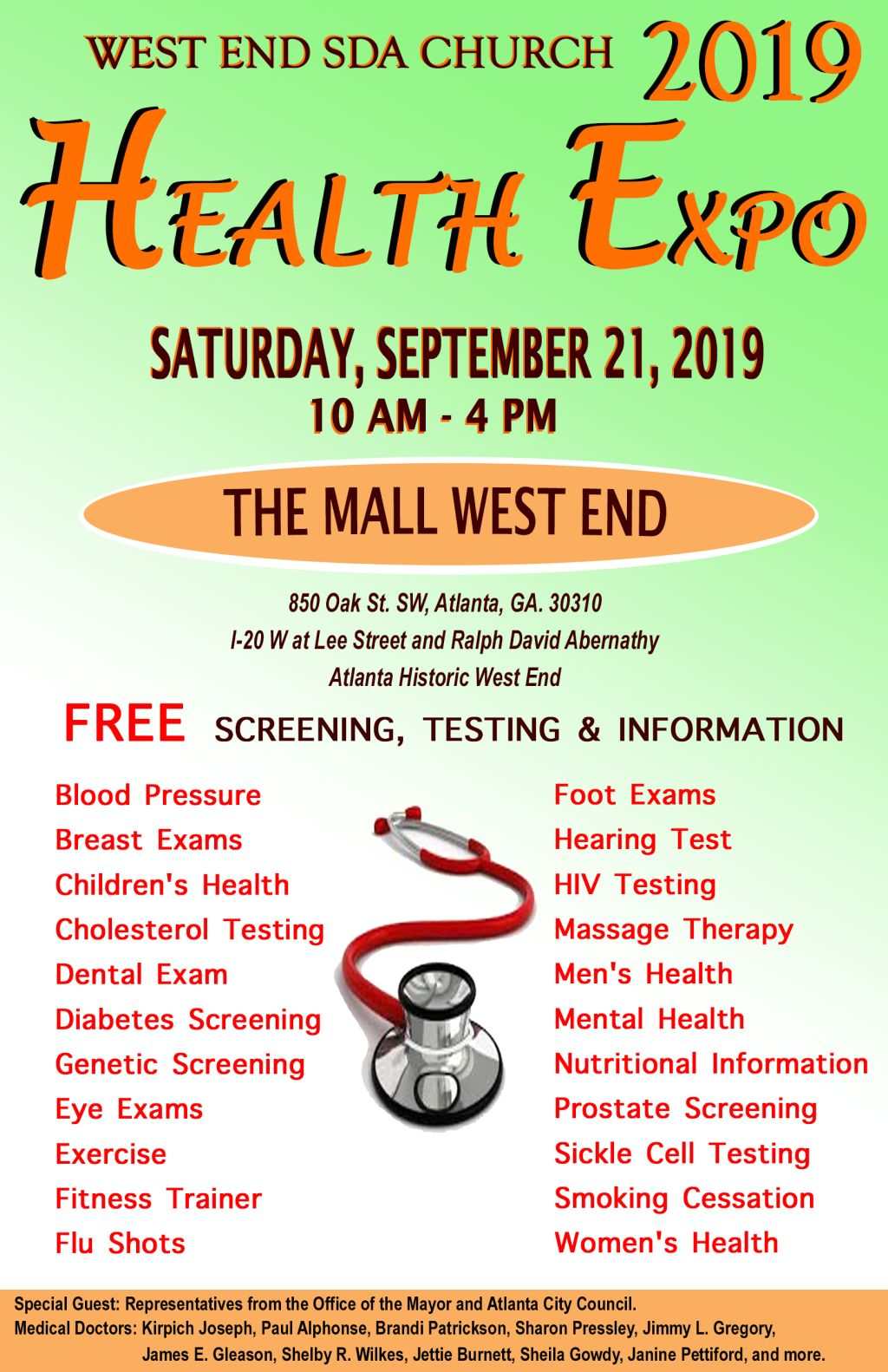 West End Health Fair