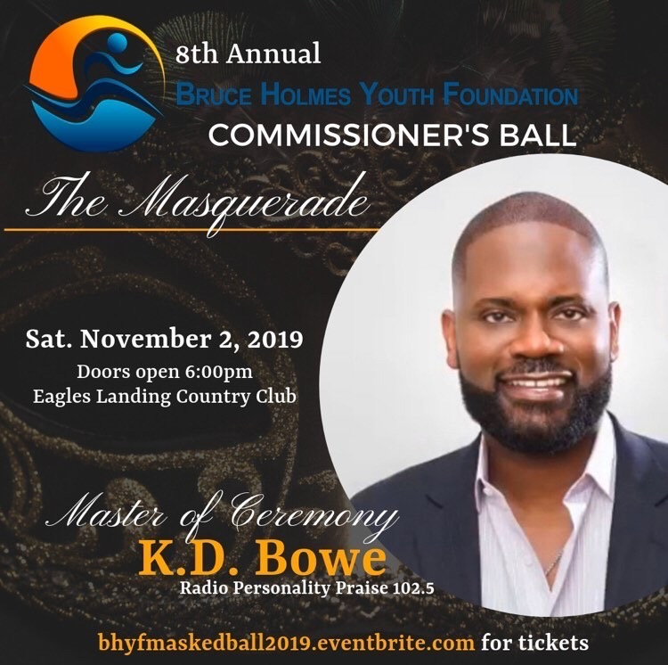 Bruce Holmes Youth Foundation: 8th Annual Commissioner's Ball