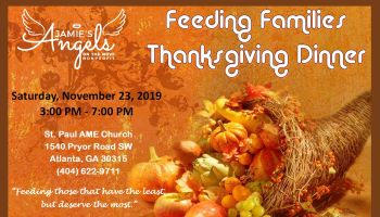 Jamie's Angels On The Move Nonprofit: Feeding Families Thanksgiving Dinner