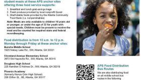 atlanta pulbic schools free meals