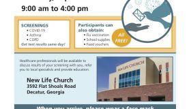 Montell Jordan & Allergy Network Hosting Free COVID-19 & COPD Screenings